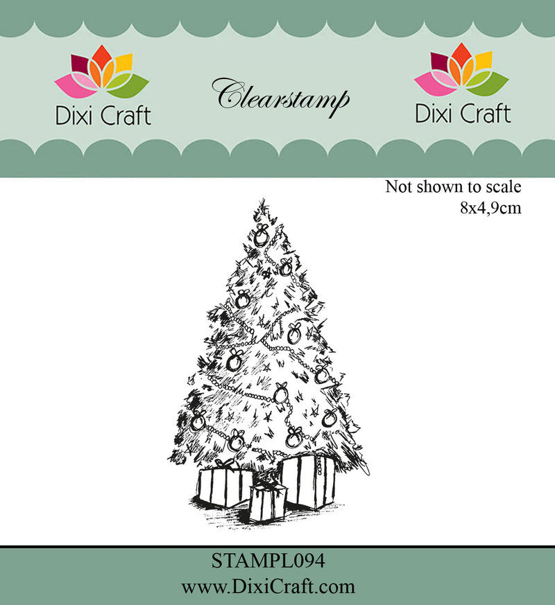 Dixi Craft - Clear Stamp - Christmas Tree