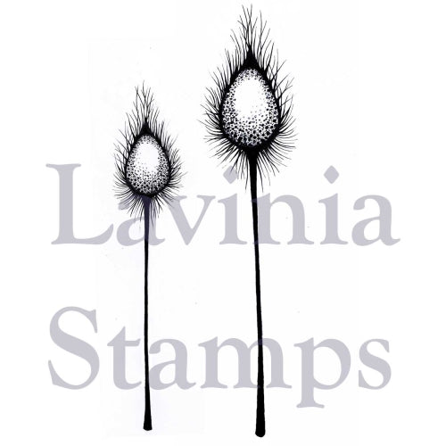 Lavinia - Dragon Pods - Clear Polymer Stamp
