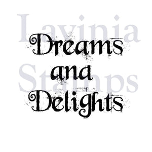 Lavinia - Dreams and Delights - Clear Polymer Stamp