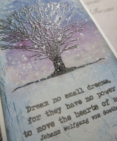 PaperArtsy - Alison Bomber 07 - Dreaming & Doing - Rubber Cling Mounted Stamp Set