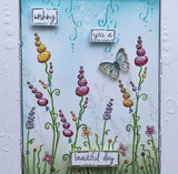 PaperArtsy - Kay Carley 19 - Rubber Cling Mounted Stamp Set
