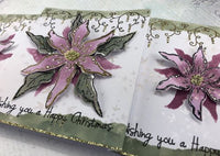 PaperArtsy - Kay Carley 21- Rubber Cling Mounted Stamp Set