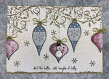 PaperArtsy - Kay Carley 22 - Rubber Cling Mounted Stamp Set