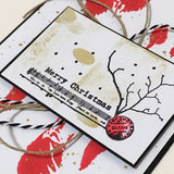 PaperArtsy - Sara Naumann 30 - Rubber Cling Mounted Stamp Set