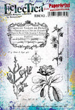 PaperArtsy - Scrapcosy 03 - Rubber Cling Mounted Stamp Set