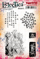 PaperArtsy - Seth Apter 02 Rubber Cling Mounted Stamp Set