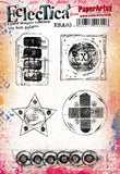 PaperArtsy - Seth Apter 03 - Rubber Cling Mounted Stamp Set