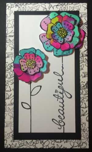 PaperArtsy - Tracy Scott 17 - Rubber Cling Mounted Stamp Set