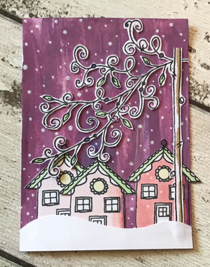 PaperArtsy - Kay Carley MINI 31 - Rubber Cling Mounted Stamp Set