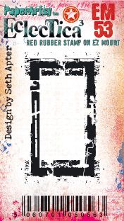 PaperArtsy - Seth Apter Mini 53 - Rubber Cling Mounted Stamp Set