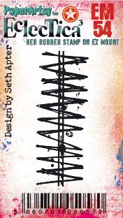 PaperArtsy - Seth Apter Mini 54 - Rubber Cling Mounted Stamp Set
