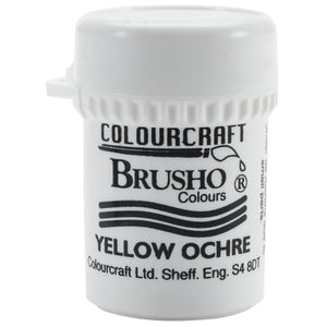 Colourcraft - Brusho Crystal Color - Yellow Ochre
