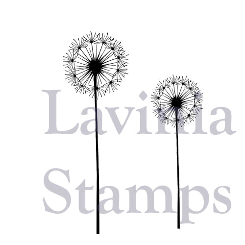 Lavinia - Fairy Dandelions - Clear Polymer Stamp