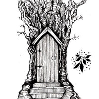 Lavinia - Fairy Door- Clear Polymer Stamp