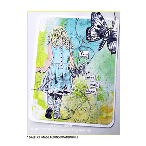 Crafty Individuals - Unmounted Rubber Stamp - 449 - My Favorite Place