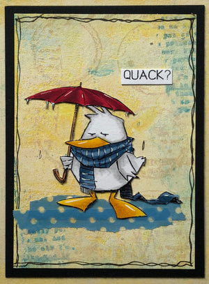 AALL & Create - Clear Stamp Set - #135 - A6 - Quack the Duck