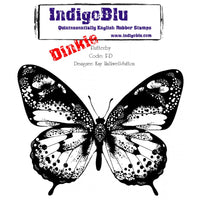 IndigoBlu - Cling Mounted Stamp - Flutterby - Dinkie