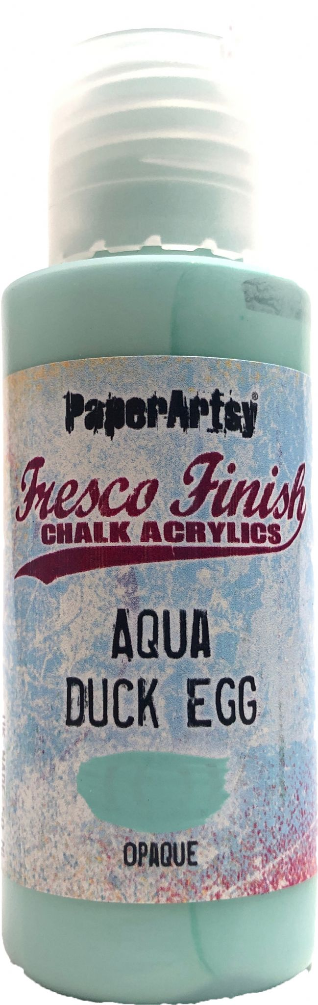 PaperArtsy - Fresco Chalk Paint - Aqua Duck Egg