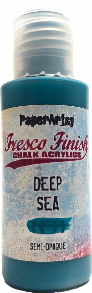 PaperArtsy - Fresco Chalk Paint - Deep Sea