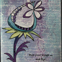 PaperArtsy - Fresco Chalk Paint - Forget Me Not