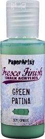 PaperArtsy - Fresco Chalk Paint - Green Patina