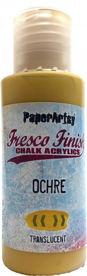 PaperArtsy - Fresco Chalk Paint - Ochre