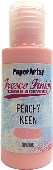 PaperArtsy - Fresco Chalk Paint - Peachy Keen