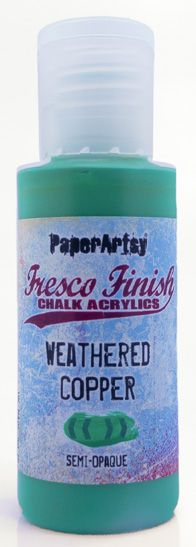PaperArtsy - Fresco Chalk Paint - Weathered Copper
