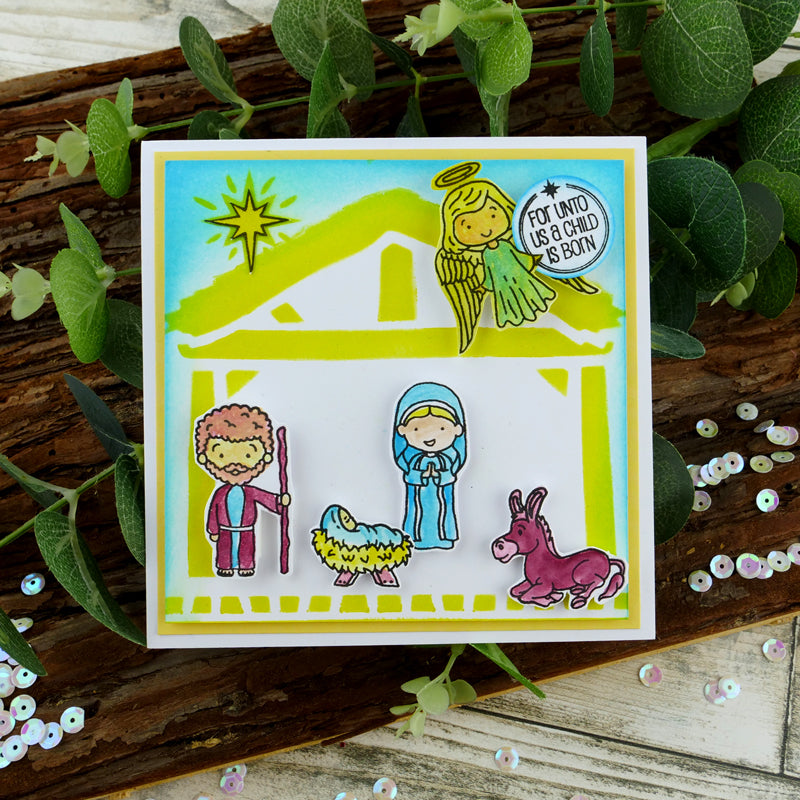 For the Love of Stamps - The Nativity