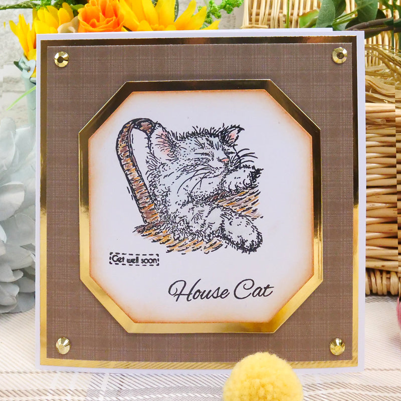 For the Love of Stamps - Cat - House Cat