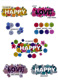 For the Love of Stamps - Floral Expressions