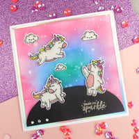 For the Love of Stamps - Wish Upon a Unicorn