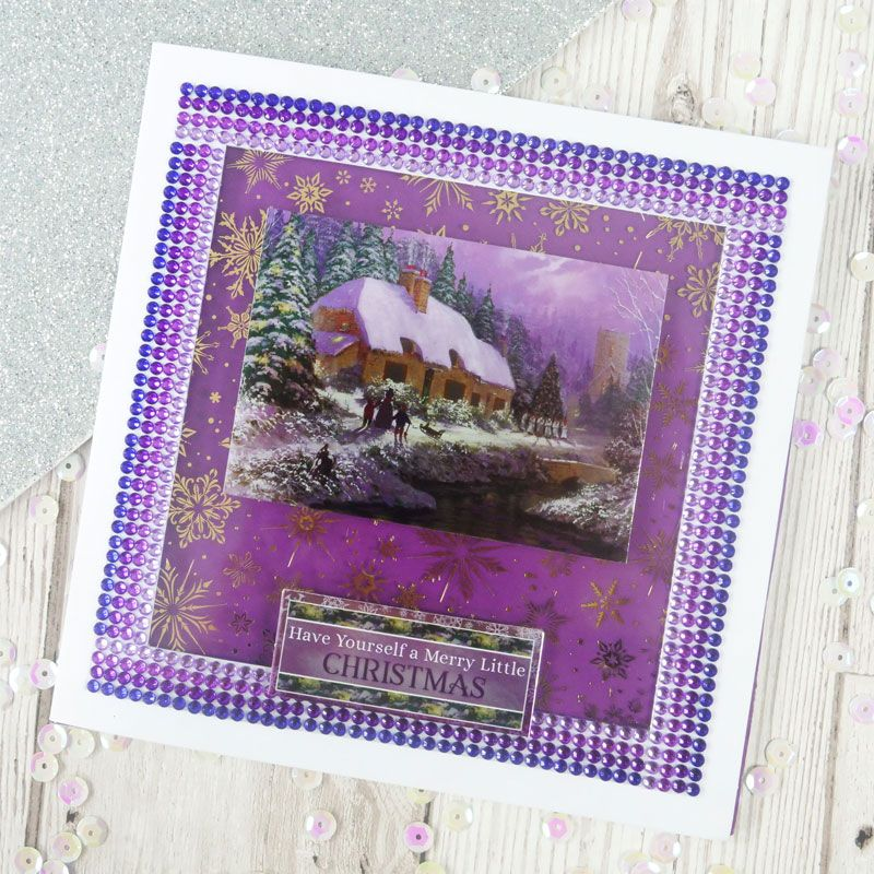 Hunkydory - Diamond Sparkles Gemstone Roll - Precious Purples