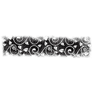 Lavinia - Ivy Border Stamp - Clear Polymer Stamp