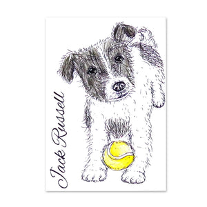 For the Love of Stamps - Dog - Jack Russell Terrier
