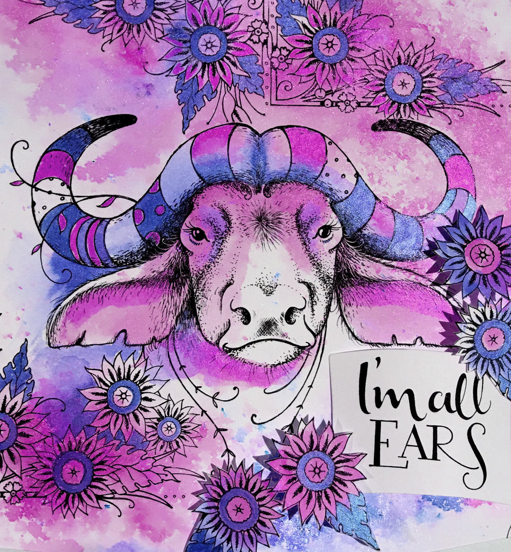 Pink Ink Designs - Clear Photopolymer Stamps - Buffalo Jill