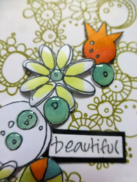 PaperArtsy - JOFY MINI 57 - Rubber Cling Mounted Stamp Set
