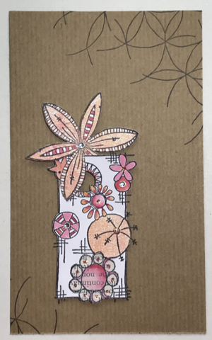 PaperArtsy - JOFY MINI 61 - Rubber Cling Mounted Stamp Set