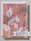 PaperArtsy - JOFY MINI 63 - Rubber Cling Mounted Stamp Set