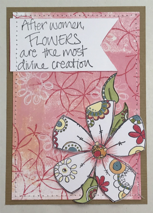 PaperArtsy - JOFY 59 - Rubber Cling Mounted Stamp Set