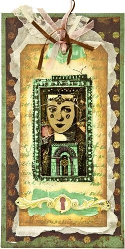 PaperArtsy - Lynne Perrella 10 - Rubber Cling Mounted Stamp Set