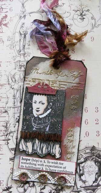 PaperArtsy - Lynne Perrella 12 - Rubber Cling Mounted Stamp Set