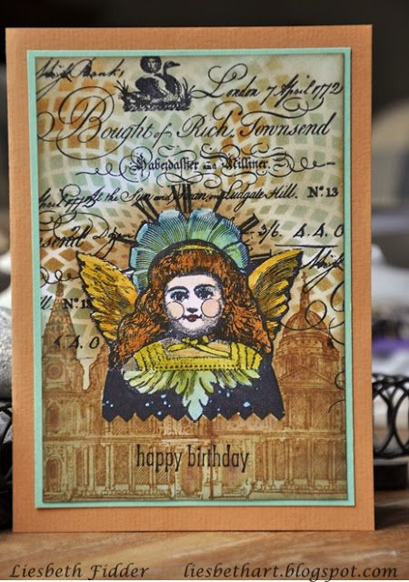 PaperArtsy - Lynne Perrella 20 - Rubber Cling Mounted Stamp Set