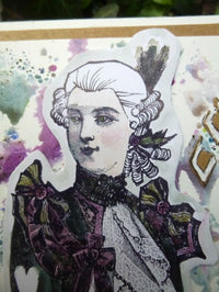 PaperArtsy - Lynne Perrella 37 - Rubber Cling Mounted Stamp Set