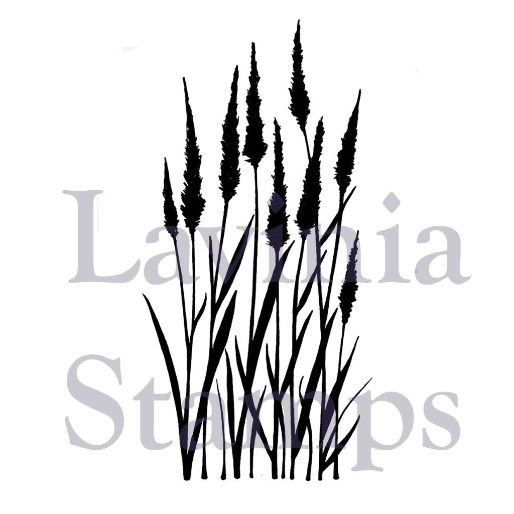 Lavinia - Meadow Grass - Clear Polymer Stamp