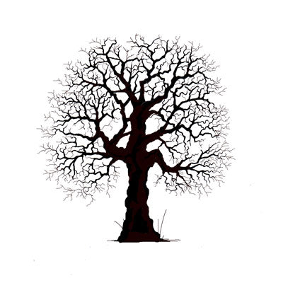 Lavinia - Oak Tree - Clear Polymer Stamp