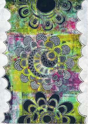 PaperArtsy - Stencil - Tracy Scott - PS088
