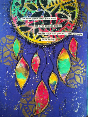 PaperArtsy - Stencil - Tracy Scott - PS109