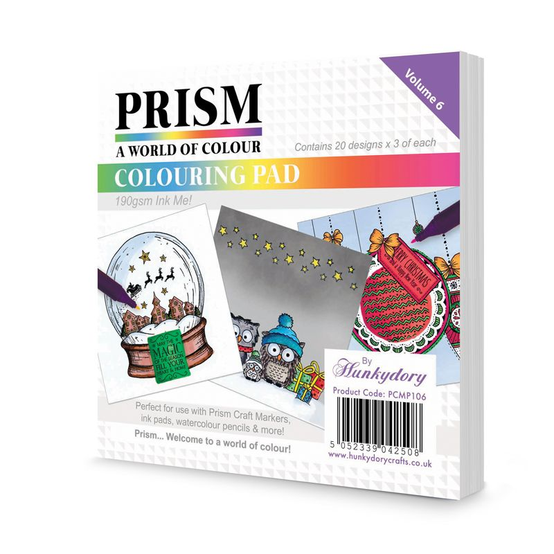 Hunkydory - Prism Colour Me! - Colouring Paper Pad 6