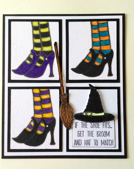 PaperArtsy - Clare Lloyd 07 - Rubber Cling Mounted Stamp Set